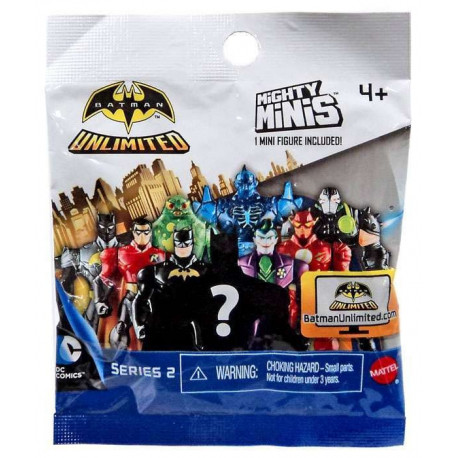 Mighty Minis - Batman Unlimited Series 2 Blind Bag Action Figure