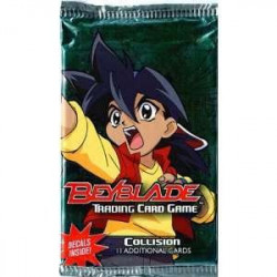 Beyblade TCG: Collision Booster Pack