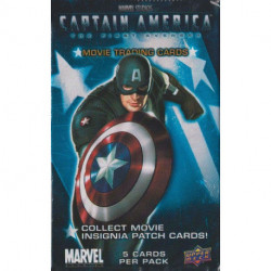 Captain America: The First Avenger Trading Card Pack
