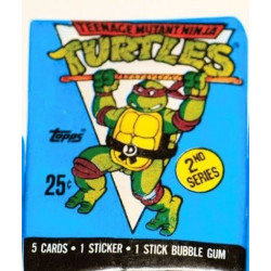 Teenage Mutant Ninja Turtles 2nd Series Card Pack