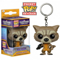 Funko Pocket POP! Marvel - Guardians of the Galaxy - Rocket Raccoon Keychain