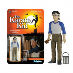 Funko Reaction - The Karate Kid - Daniel Larusso with brush and can