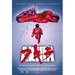 Anime Movie Poster - Akira