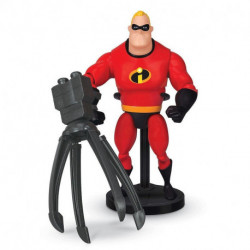 Disney Pixar Deluxe Mr. Incredible Action Figure with Omnidroid
