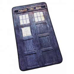 Doctor Who Distressed TARDIS Throw Blanket