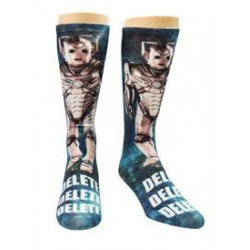 Doctor Who - Cyberman Delete - Crew Socks