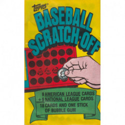 1981 Topps Baseball Scratch-Off