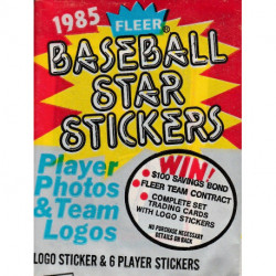 1985 Fleer Baseball Star Stickers