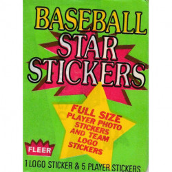 1986 Fleer Baseball Star Stickers