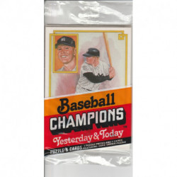 1984 Donruss Baseball Champions Yesterday & Today