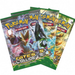 Pokemon TCG Booster Packs: 072 XY Fates Collide