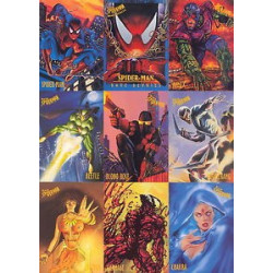 Spider-man 1997 Fleer Set