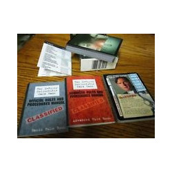 X-Files CCG 1996 Starter Deck