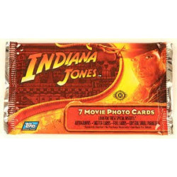 Indiana Jones Movie Photo Cards Pack