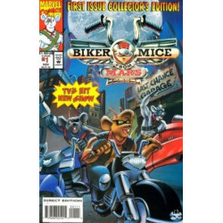 Biker Mice from Mars Mini Issue 1