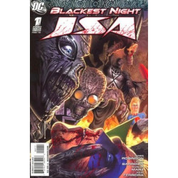 Blackest Night: JSA Mini Issue 1