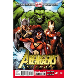 Avengers Assemble Issue 10