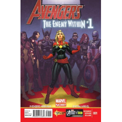 Avengers: Enemy Within Issue 1