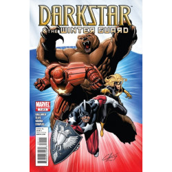 Darkstar and the Winter Guard Issue 1