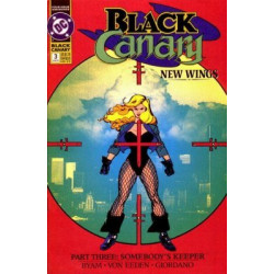 Black Canary  Issue 03