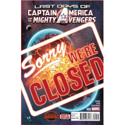 Captain America and the Mighty Avengers Issue 9