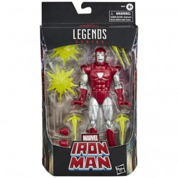 Marvel Legends: Iron Man in Silver Centurion Armor