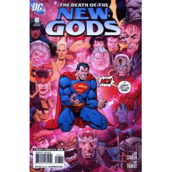 Death of the New Gods Mini Issue 8