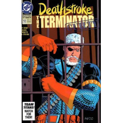 Deathstroke: The Terminator Issue 12
