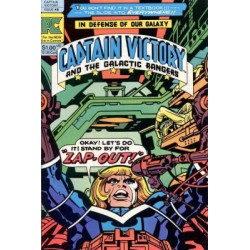 Captain Victory and  the Galactic Rangers Vol. 1 Issue 8