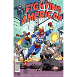 Fighting American Vol. 2 Issue 2c Variant