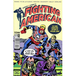 Fighting American Vol. 4 Issue 4b Variant
