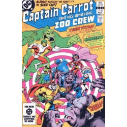 Captain Carrot and His Amazing Zoo Crew Issue 20