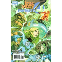 Fantastic Four: True Story Issue 1