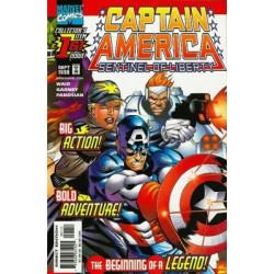 Captain America: Sentinel of Liberty  Issue 01