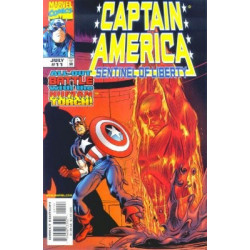 Captain America: Sentinel of Liberty  Issue 11