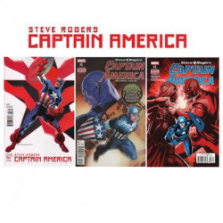 Captain America: Steve Rogers Collection 1-3