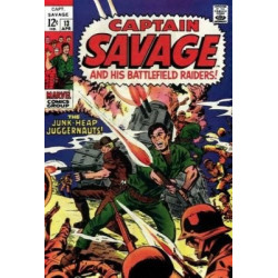 Captain Savage and His Leatherneck Raiders  Issue 13