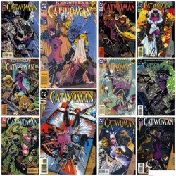 Catwoman Volume 1 Collection Issues 11-20 and 0