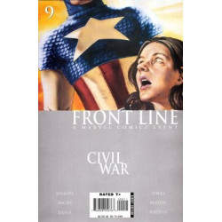 Civil War: Front Line  Issue 09