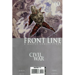 Civil War: Front Line  Issue 10