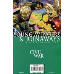 Civil War: Young Avengers & Runaways Mini Issue 3