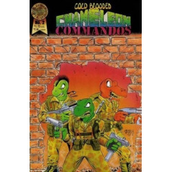 Cold Blooded Chameleon Commandos  Issue 2