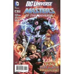DC Universe Vs Masters of the Universe  Issue 4