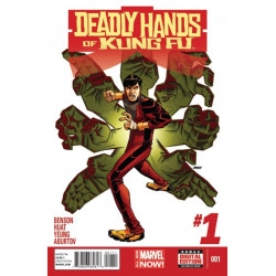Deadly Hands of Kung Fu  Issue 1