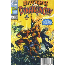 Defenders of Dynatron City Issue 1