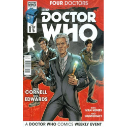 Doctor Who: Four Doctors  Issue 1