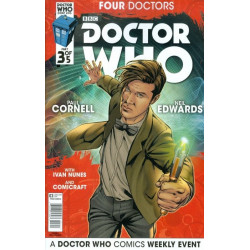 Doctor Who: Four Doctors  Issue 3