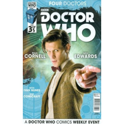 Doctor Who: Four Doctors  Issue 3b