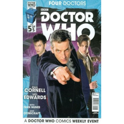 Doctor Who: Four Doctors  Issue 5b