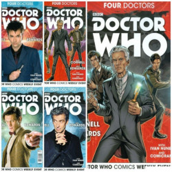 Doctor Who: Four Doctors Collection Issues 1-5
